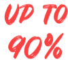 up to 90%